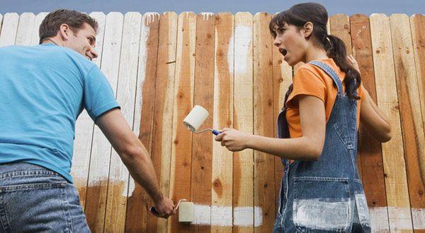Мотивация за фитнес или как да боядисате оградата